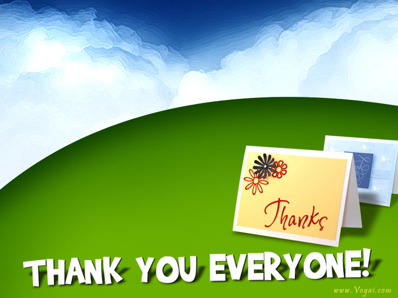 Thank You Greeting